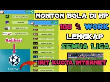 Live streams will be available approximately 10 minutes before the broadcast's start. 6 Rekomendasi Aplikasi Live Streaming Nonton Bola Gratis ...