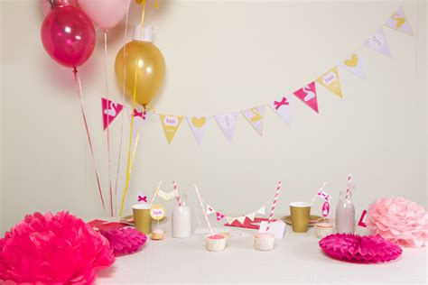 idee deco pour anniversaire bebe  visuel