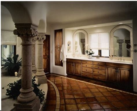 ideas for decorating bathroom a tuscan style bathroom villa with all the trimmings