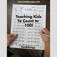 Counting To 100 On Pinterest  100th Day, Go Math Kindergarten And Abc Songs