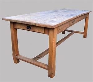 Table Ancienne De Ferme : authentique table de ferme ancienne en bois brut ~ Teatrodelosmanantiales.com Idées de Décoration