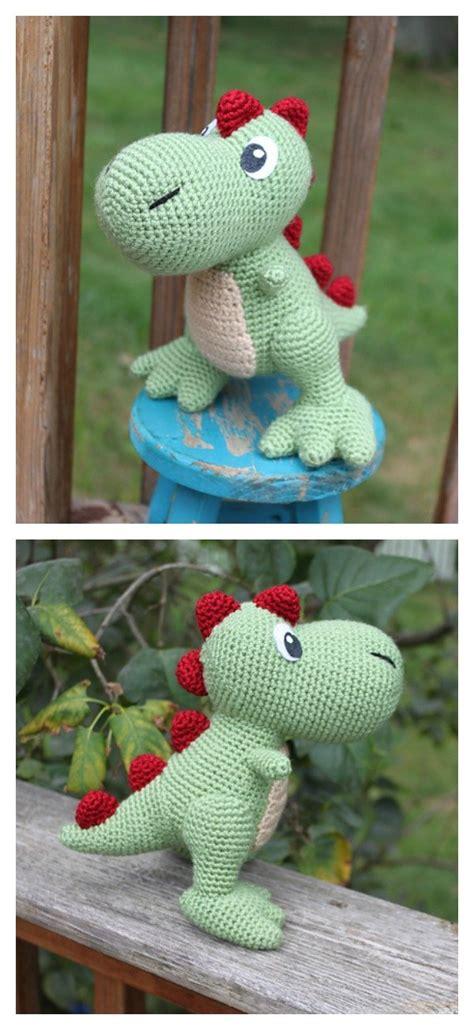 crochet amigurumi dinosaur  patterns