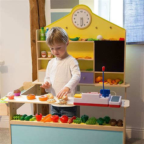 ultrakidz solid wood play shop toy shop  children