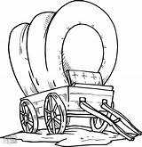Wagon Coloring Pages Covered Pioneer Chuck Conestoga Drawing Sketch Getcolorings Clipartmag Printable Wheel Horse Getdrawings sketch template