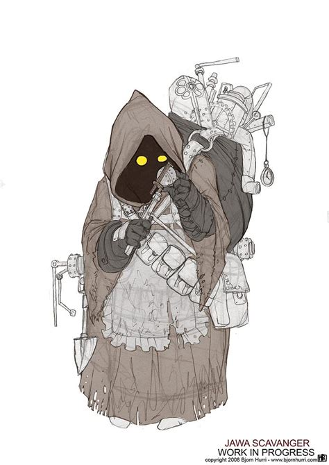 steampunk styled star wars illustrations gadgetsin