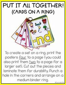 Blends Anchor Charts By A Cupcake For The Teacher Tpt