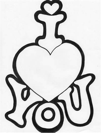 Coloring Pages Colouring Heart Valentine Drawing Sheet