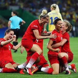 Sweden vs. Germany: 2016 Olympic Soccer Gold-Medal Game ...