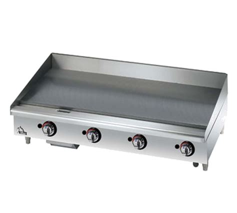 Countertop Griddle Gas - 648mf 48 quot countertop gas griddle culinary depot