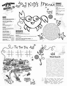 7 best menus images on pinterest kids menu restaurant With free printable menu templates for kids