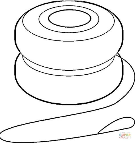 yoyo clipart black and white yoyo coloring page free printable coloring pages