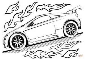 hot wheels car coloring page  printable coloring pages