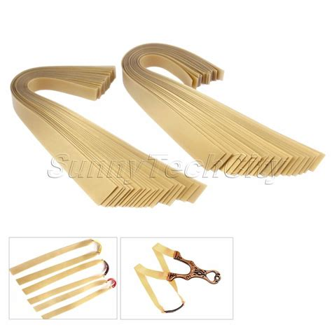 20pcsset Golden Flat Rubber Band Replacement For