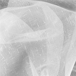 110'' Sheer Voile Gasa White - Discount Designer Fabric