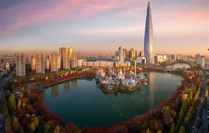 Seoul Tower South Namsan Lotte Korea Park