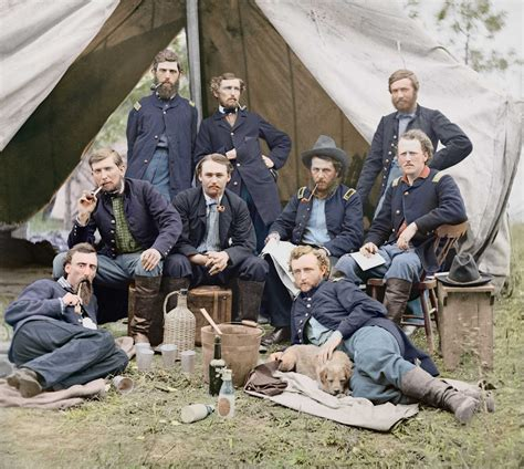 the color war the civil war in color 28 stunning colorized photos that