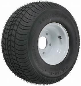 Kenda 215  60-8 Bias Trailer Tire With 8 U0026quot  White Wheel