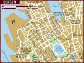 Bergen Norway Map