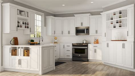 hampton base cabinets  white kitchen  home depot
