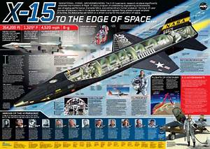 Nasa U0026 39 S  U0026quot X-15  To The Edge Of Space U0026quot  Poster