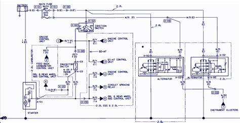 Wiring Diagram Mazda 3 2004 by 1991 Mazda B2600i Wiring Diagram Auto Wiring Diagrams