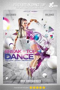 free psd template file page 45 newdesignfilecom With dance flyers templates free