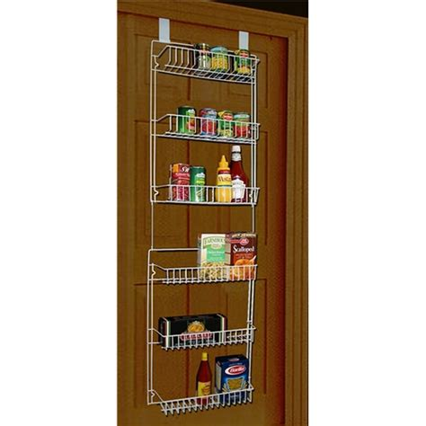 kitchen cabinet shelving racks storage dynamics 5 foot over the door rack organizer