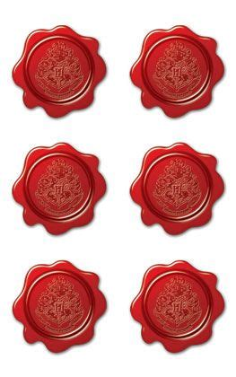 creative imaginations harry potter faux wax seal stickers