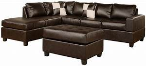 product reviews buy bobkona soft touch reversible bonded With bobkona 3 piece sectional sofa set