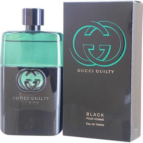 gucci guilty black eau de toilette spray for 3 oz