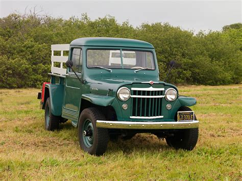 willys jeep truck green willys car stock photos kimballstock