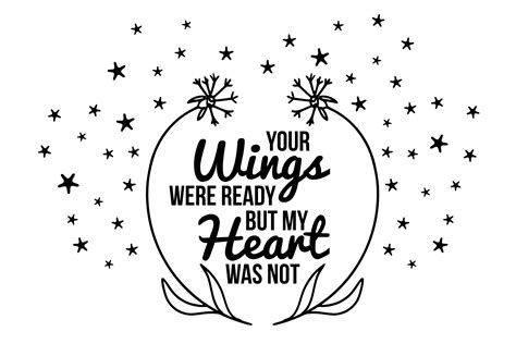 wings  ready svg memorial illustrations