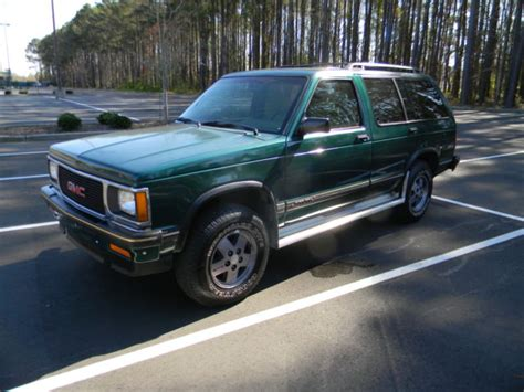 how cars run 1994 gmc jimmy regenerative braking 1994 gmc jimmy sle 4x4 1 owner low miles very clean vortec v 6 must see for sale photos