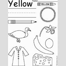 Yellow Things Enchantedlearningcom