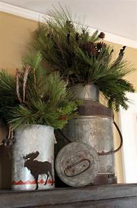 Mit Fotos Dekorieren : ideen f r weihnachtliche dekoration mit tannenzweigen ~ Indierocktalk.com Haus und Dekorationen