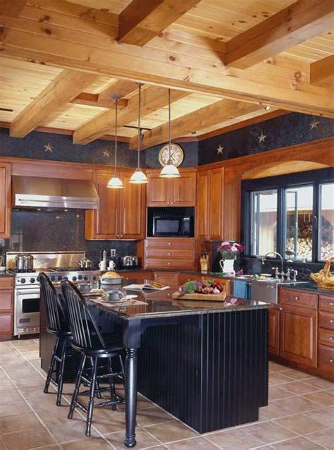 log home kitchen design the of the home log home kitchens 7154