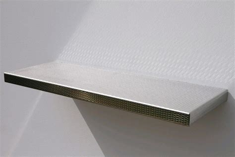 silver floating shelf interior winduprocketappscom silver metal floating shelf silver