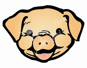 Pig Face Drawing