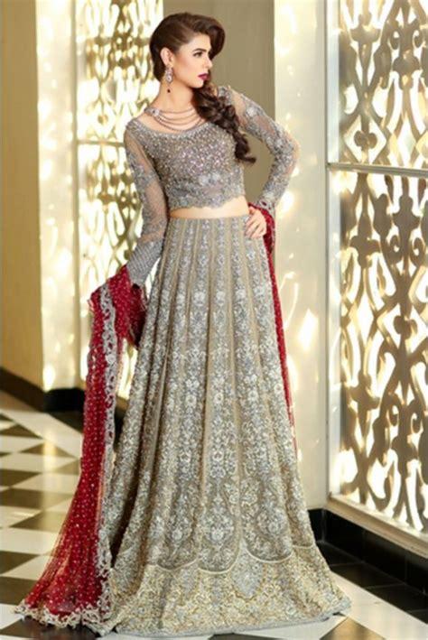 pakistani designer bridal dresses maria  brides