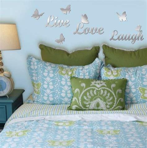 Stratton home decorative 12w x 24h live dream laugh happy love wall decor, neutral. Mirrored Live Love Laugh | Wall stickers home decor, Home decor, Home
