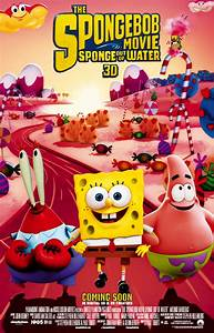 The Spongebob Movie Sponge Out Of Water Dvd 68000 Movieweb