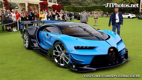What Does Bugatti In by Bugatti Vision Gt Unloading How Many Boards Does It Take
