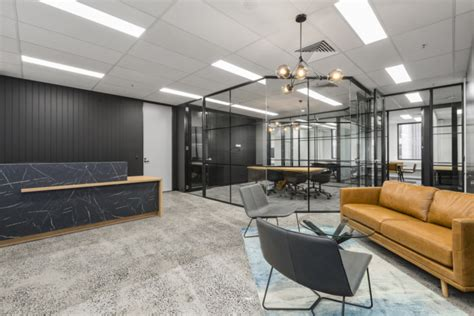peachtree capital offices  concept commercial interiors