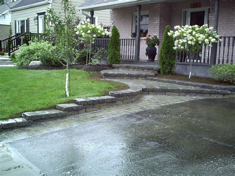 landscaping ideas for entrance driveway awesome driveway landscaping 7 driveway entrance landscaping ideas newsonair org