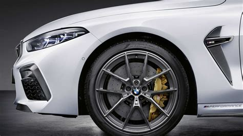 Bmw M8 M Performance Parts by 2020 Bmw M8 With M Performance Parts Motor1 Photos