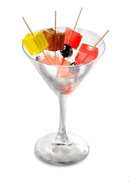 """Fun """"cocktail"""" For Parties Jello Shots In Different"""
