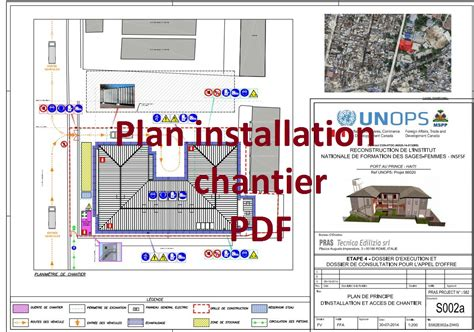 bureau etude construction metallique exemple de plan d 39 installation de chantier pdf outils