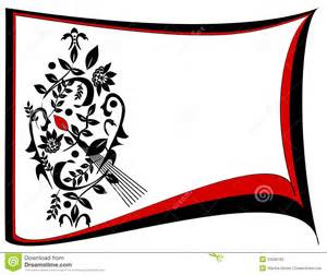 Red and Black Border Designs