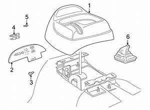 Gmc Jimmy Boot  Shift  Manual Transmission Control Lever