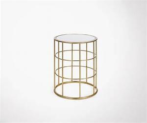 Table D Appoint Doré : table d 39 appoint m tallique dor e style art d co par j line ~ Teatrodelosmanantiales.com Idées de Décoration